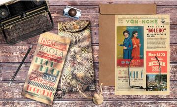 """Bao lì xì vintage - sự phá cách làm """"chao đảo"""" cộng đồng mạng."""