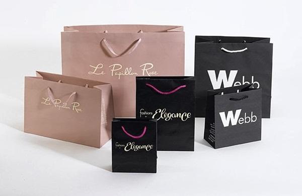 Chất liệu in túi giấy giá lẻ được sử dụng phổ biến nhất